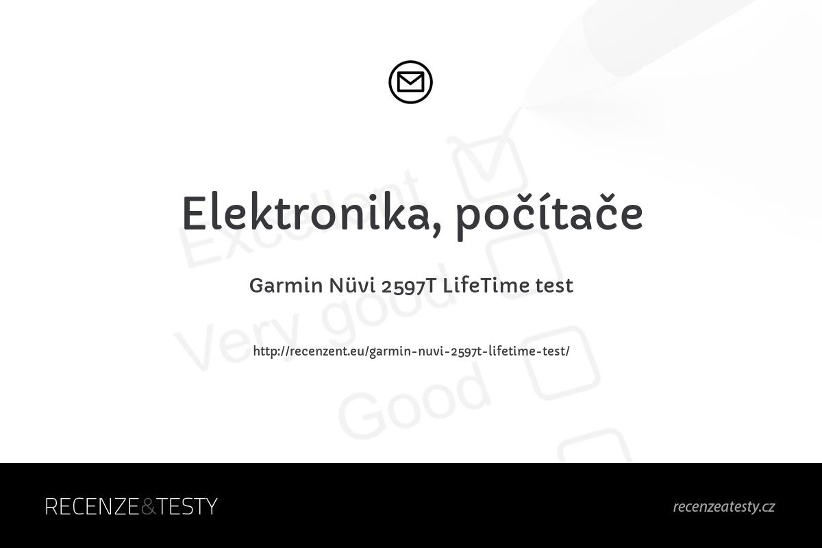 Garmin Nüvi 2597T LifeTime test